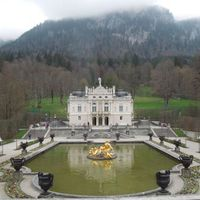 A Schloss Linderhof
