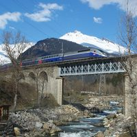 A Saint-Pierre-d'Albigny - Bourg-Saint-Maurice-vasútvonalon