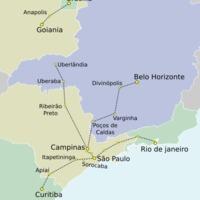 Nagysebességgel Brazíliában