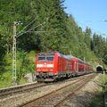 Vonattal a Fekete-erdőn keresztül