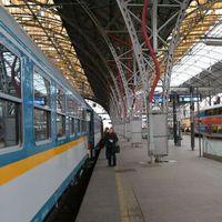 Prága-München vonattal