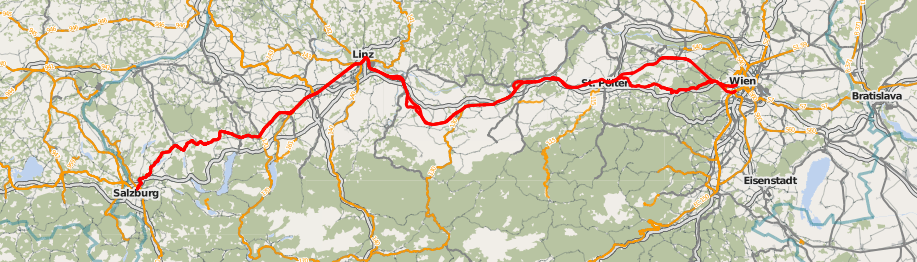 ausztria régi és az új Westbahn