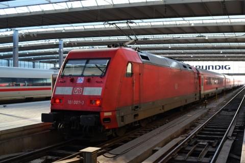 München-Nürnberg-expressz München Hauptbahnhof db 101