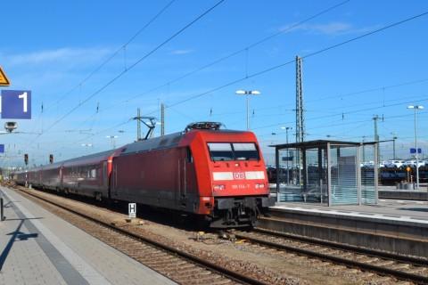 München-Nürnberg-expressz Ingolstadt db 101