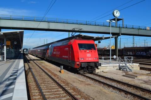 München-Nürnberg-expressz ingolstadt werbelok db 101
