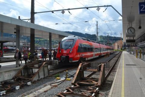 innsbruck hauptbahnhof DB talent2