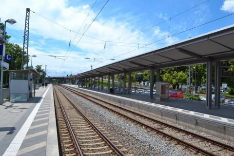 München S-Bahn S1 oberschleißheim megálló