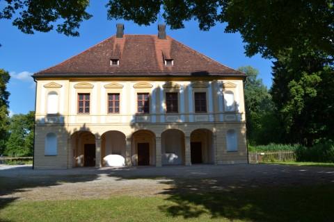 Schlossanlage Schleißheim Lustheim palota