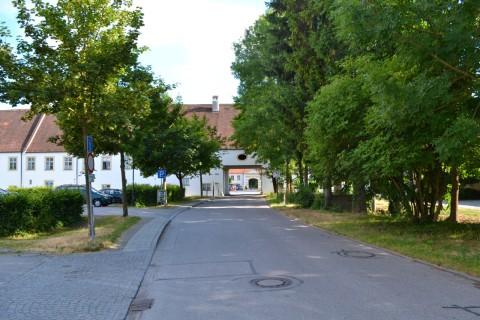 Bejárat Schlossanlage Schleißheimba