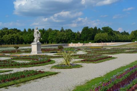 Schlossanlage Schleißheim Neues Schloss Schleißheim barokk kert