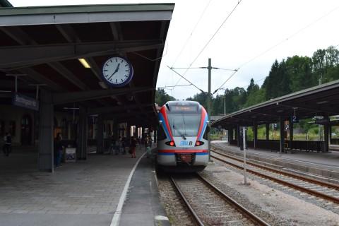 Königssee Berchtesgaden BLB Berchtesgadener Land Bahn Bajorország
