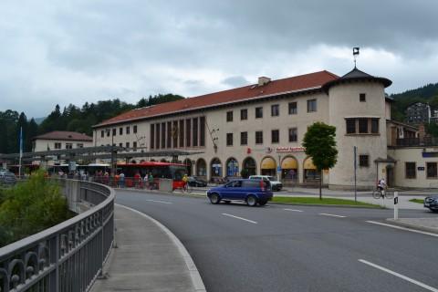 Berchtesgaden vasútállomás Bajorország