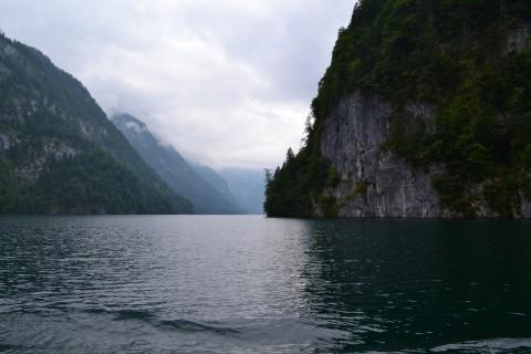 Königssee Obersse Berchtesgaden Nemzeti Park Bajorország