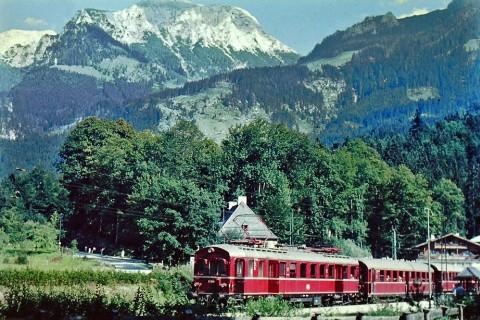 Königseebahn DRG ET 85 sorozat Bajorország