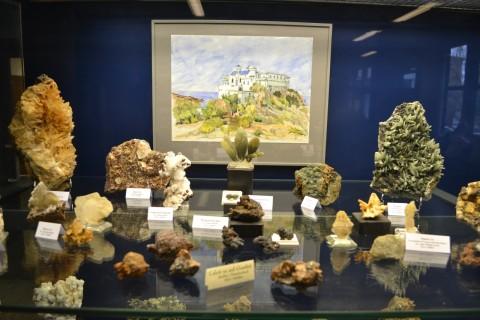 ásvány München múzeum Museum Reich der Kristalle olaszország