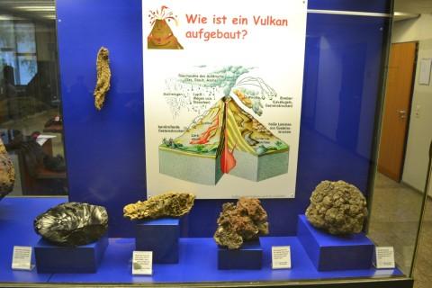 ásvány München múzeum Museum Reich der Kristalle Vulkáni eredetű ásványok