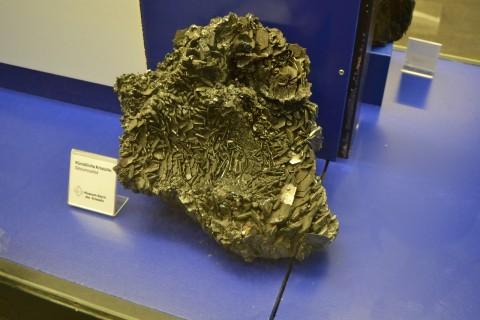 ásvány München múzeum Museum Reich der Kristalle Szilíciumkarbid