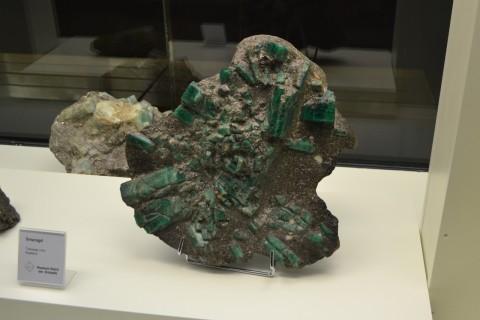 ásvány München múzeum Museum Reich der Kristalle smaragd kristály