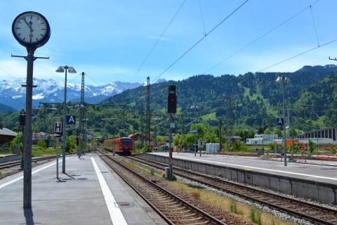 DB Talent2 Garmisch-Partenkirchen Mittenwaldbahn Bajorország