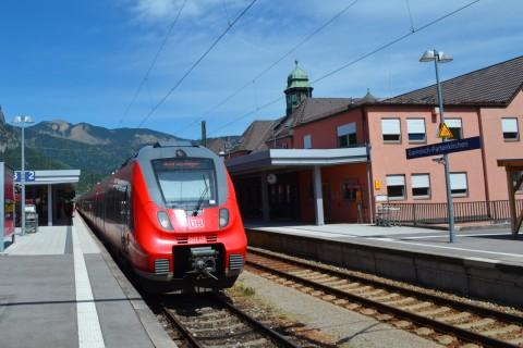 DB Talent2 Mittenwaldbahn Garmisch-Partenkirchen Bajorország