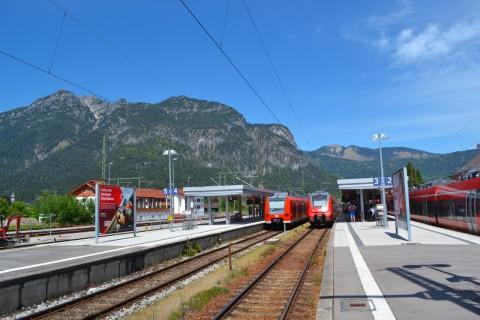 Mittenwaldbahn Garmisch-Partenkirchen Talent2 Bajorország