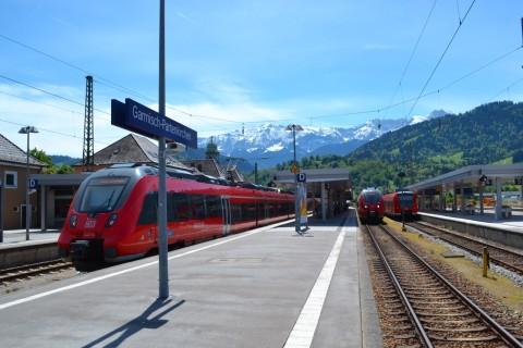Mittenwaldbahn Bajorország Garmisch-Partenkirchen Talent 2