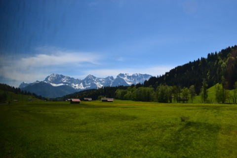 Mittenwaldbahn Bajorország