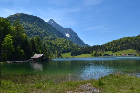 Mittenwald Bajorország Lautersee