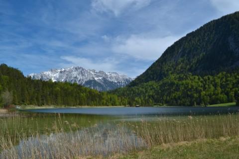 Mittenwald Bajorország Ferchensee