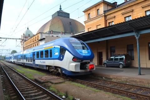 plzen hlavní nádraží Plzeň állomás RegioShark ČD 844
