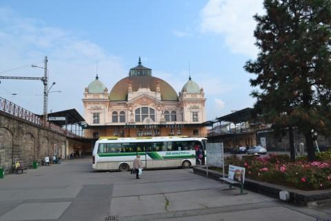 plzen hlavní nádraží Plzeň állomás