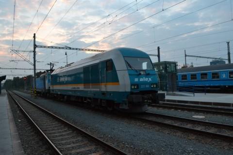 plzen hlavní nádraží Plzeň állomás ALEX Hercules