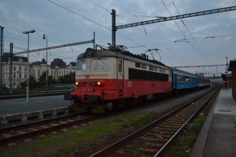 plzen hlavní nádraží Plzeň állomás ČD 242