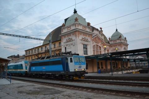 plzen hlavní nádraží Plzeň állomás Hercules ČD 362