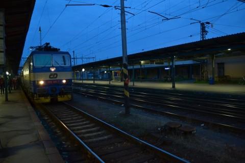 plzen hlavní nádraží Plzeň állomás ČD 362