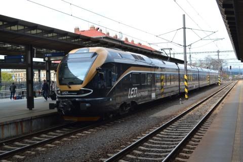 prága főpályaudvar Praha hlavní nádraží LEO Express