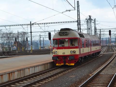 prága főpályaudvar Praha hlavní nádraží ČD 854 sorozat