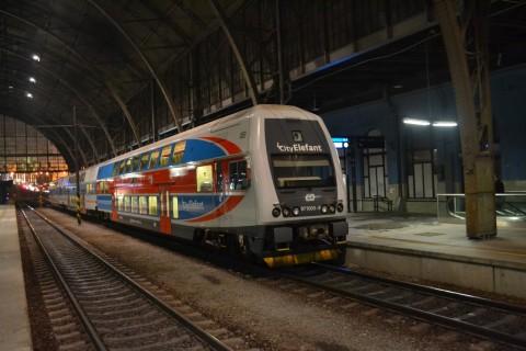 prága főpályaudvar Praha hlavní nádraží Škoda CityElephant