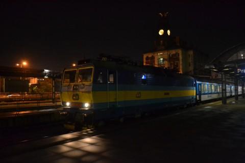 prága főpályaudvar Praha hlavní nádraží ČD 362 sorozat