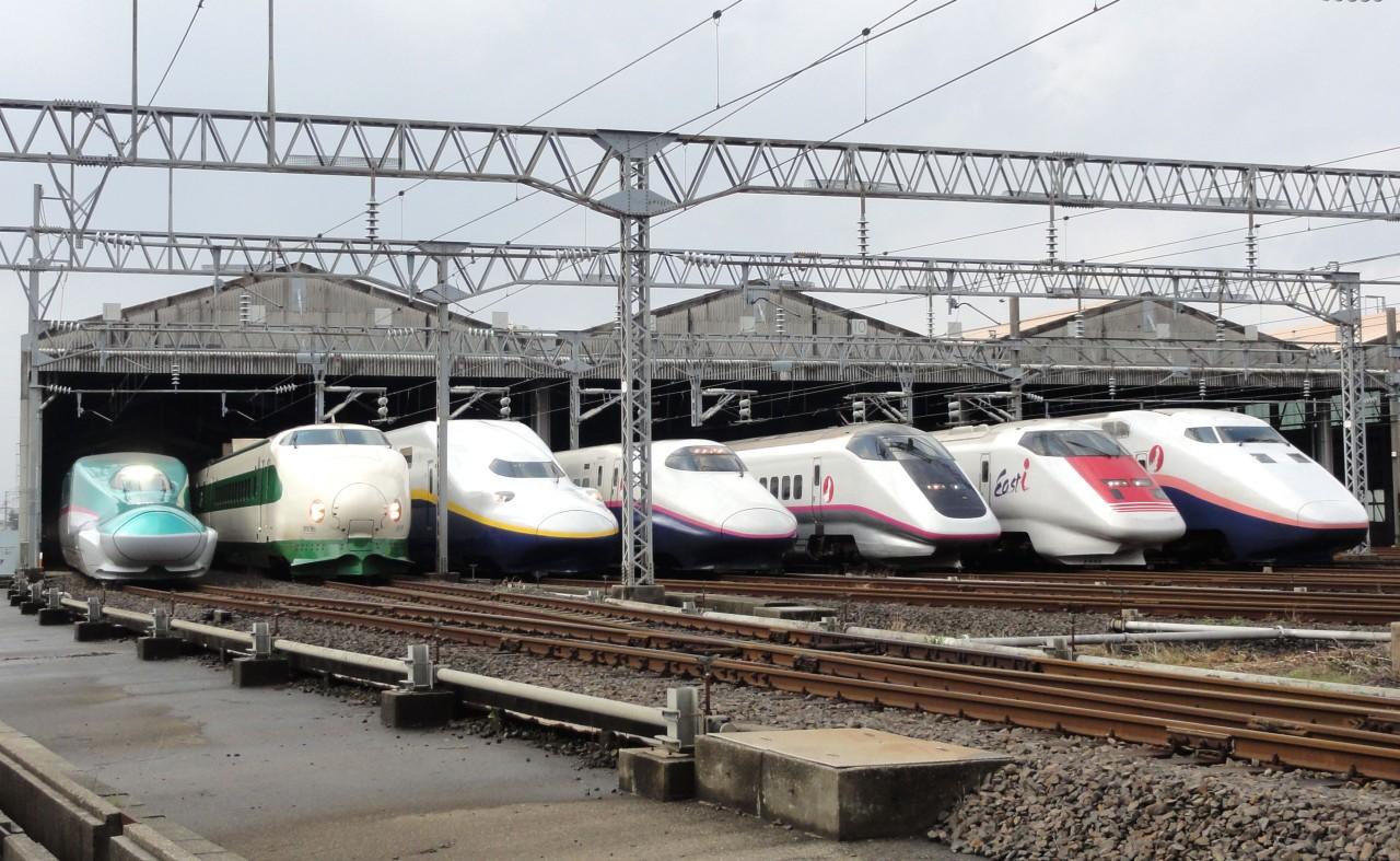 sinkanszen E5 sorozat, 200 sorozat, E4 sorozat, E2 sorozat, E926 és E1 sorozat