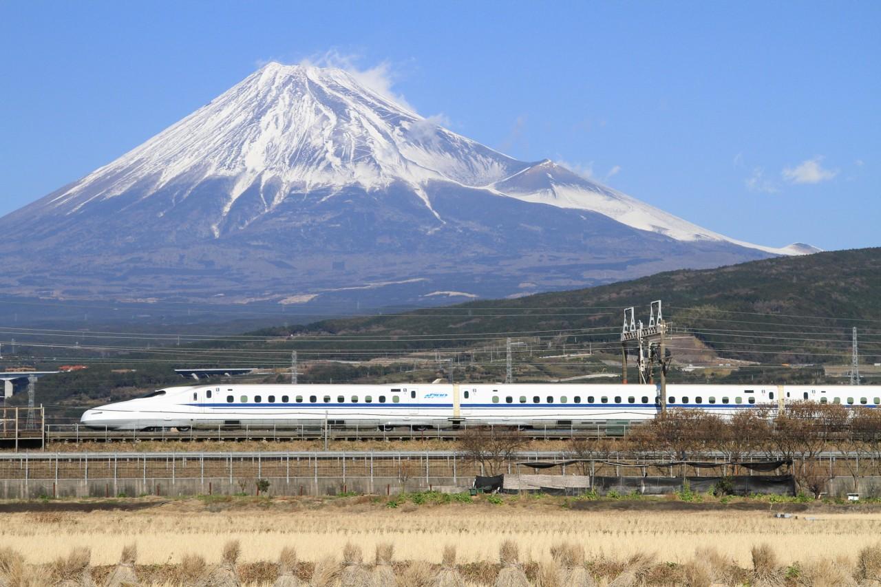 Sinkanszen Fuji hegy