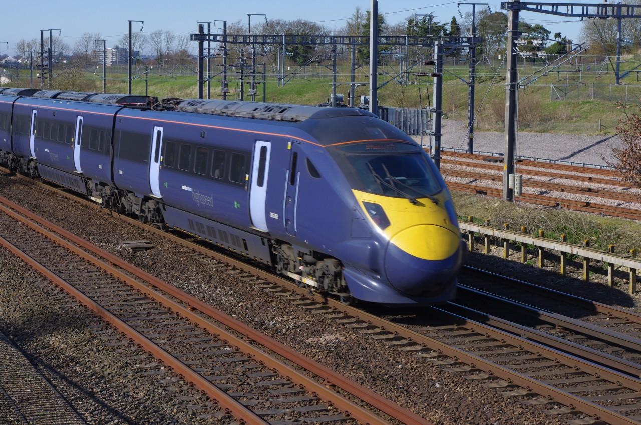 British Rail 395 sorozat Southern vasúttársaság Hitachi