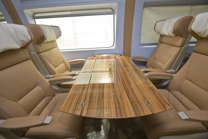 Harmain HSR Szaud-Arábia vonatbelső utastér