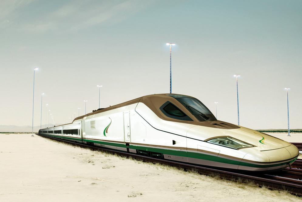 Haramain HSR nagysebességű Talgo vonata