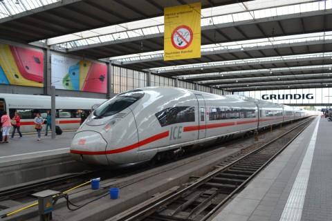 Siemens velaro D München Hauptbahnhof 2014