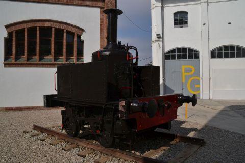 barcelona, Museu del Ferrocarril de Catalunya, katalán vasúti múzeum, Vilanova i la Geltrú