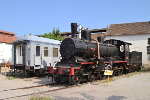 barcelona, Museu del Ferrocarril de Catalunya, katalán vasúti múzeum, Vilanova i la Geltrú, MZA 651