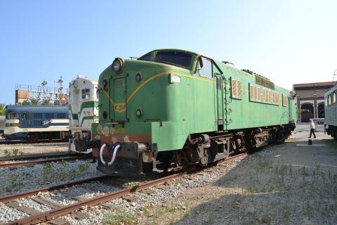 barcelona, Museu del Ferrocarril de Catalunya, katalán vasúti múzeum, Vilanova i la Geltrú, RENFE 7800, RENFE 278