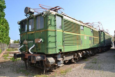 barcelona, Museu del Ferrocarril de Catalunya, katalán vasúti múzeum, Vilanova i la Geltrú, RENFE 1000