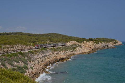RENFE 450 sorozat, mediterrán korridor Vilanova i la Geltrú